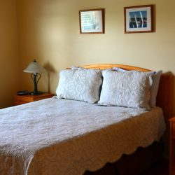 Pomquet Beech Cottages: Moose Den Single bedroom with leasy maneuverability