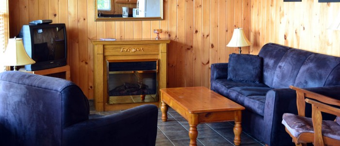 Pomquet Beech Cottages: The Lighthouse Living Room