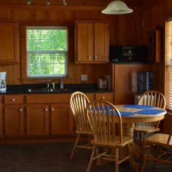 Pomquet Beech Cottages: The Lighthouse Dining Area & Kitchen